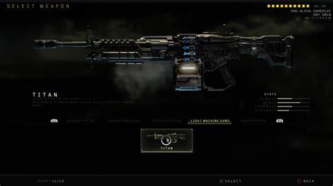 Titan LMG in Black Ops 4