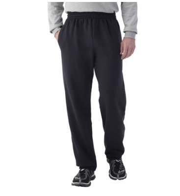 You know these EverSoft sweats are keep this dude warm, smart, and casual while he puts the work in.