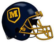 Moeller Football Helmet by highschoolball.com