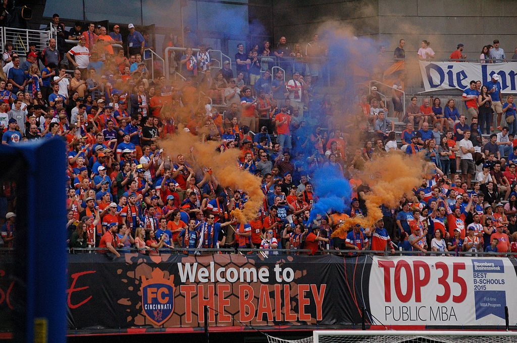"""Section in Nippert called """"The Bailey""""."""