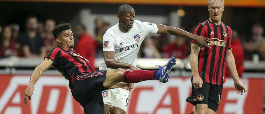"Striker ""Fanendo Adi"" in second game against Atlanta United"