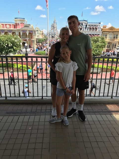 The Fam at Disney World by Parker Allen