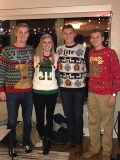 My siblings and I on Christmas