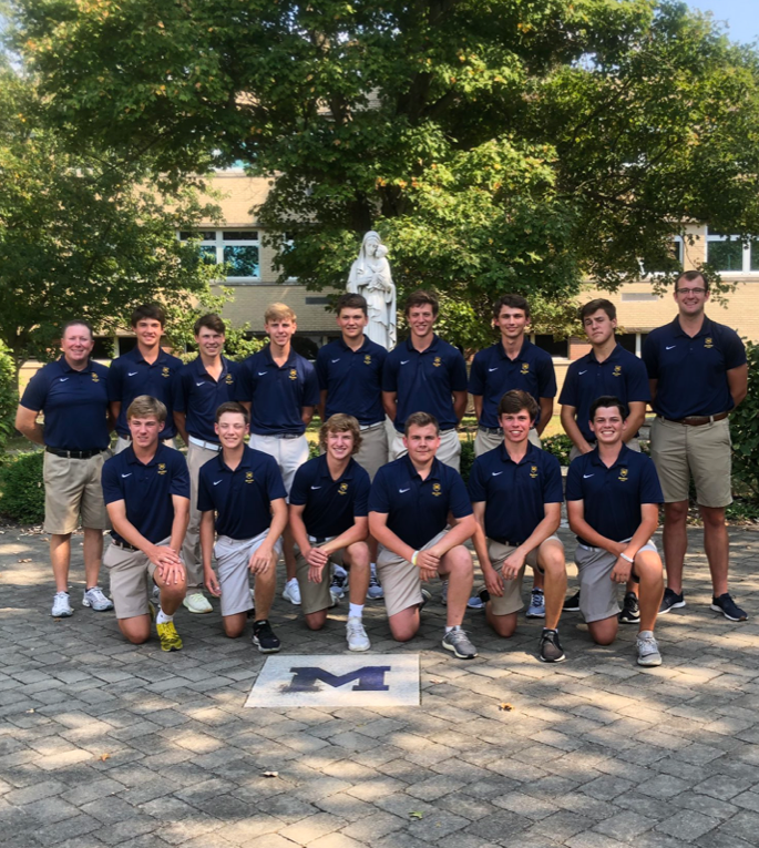 The 2019-2020 Moeller Varsity Golf Team via Moeller Twitter
