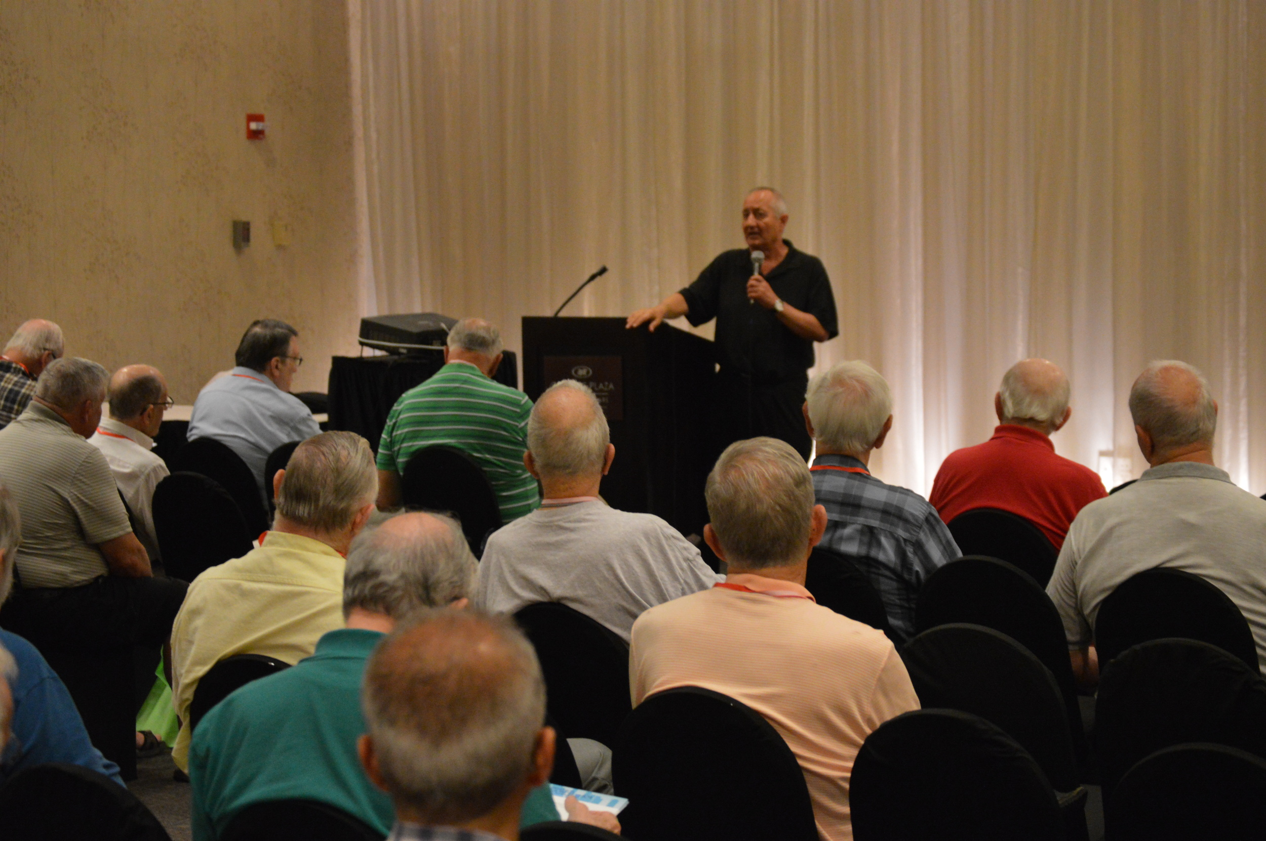 Father Lou Cameli leads retreat in the Balmoral Room June 27
