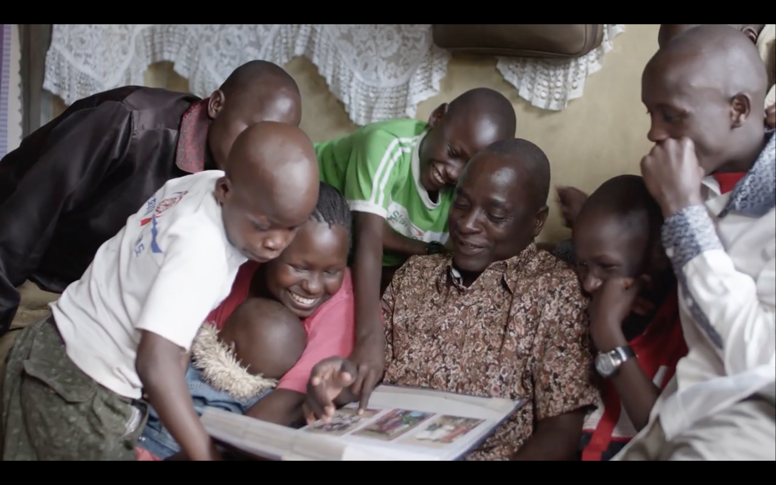 Matanda and his wife, Stella, left the seven children they cared for behind when they were killed in a car accident.