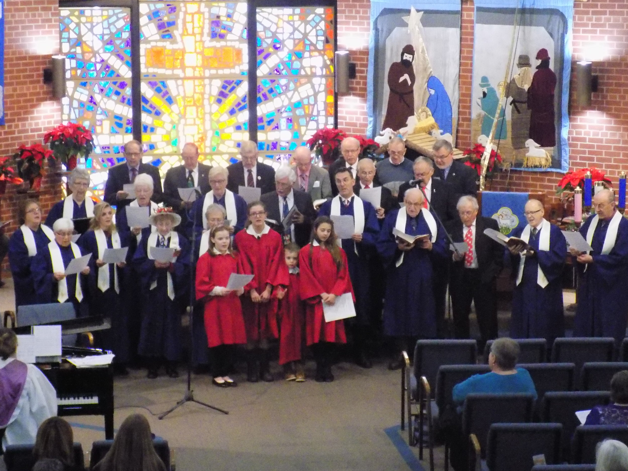 Senior Choir, Men's Choir and Youth Singers of Bridgewater United Church