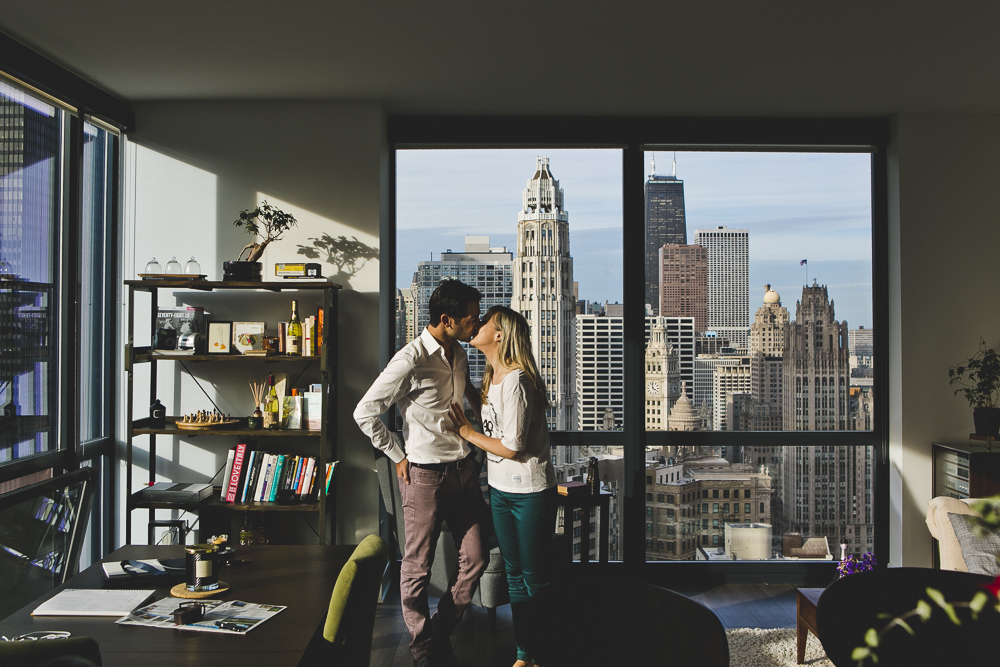 Chicago Engagement Photography Session_At Home_Apartment_downtown_JPP Studios_NL_01.JPG
