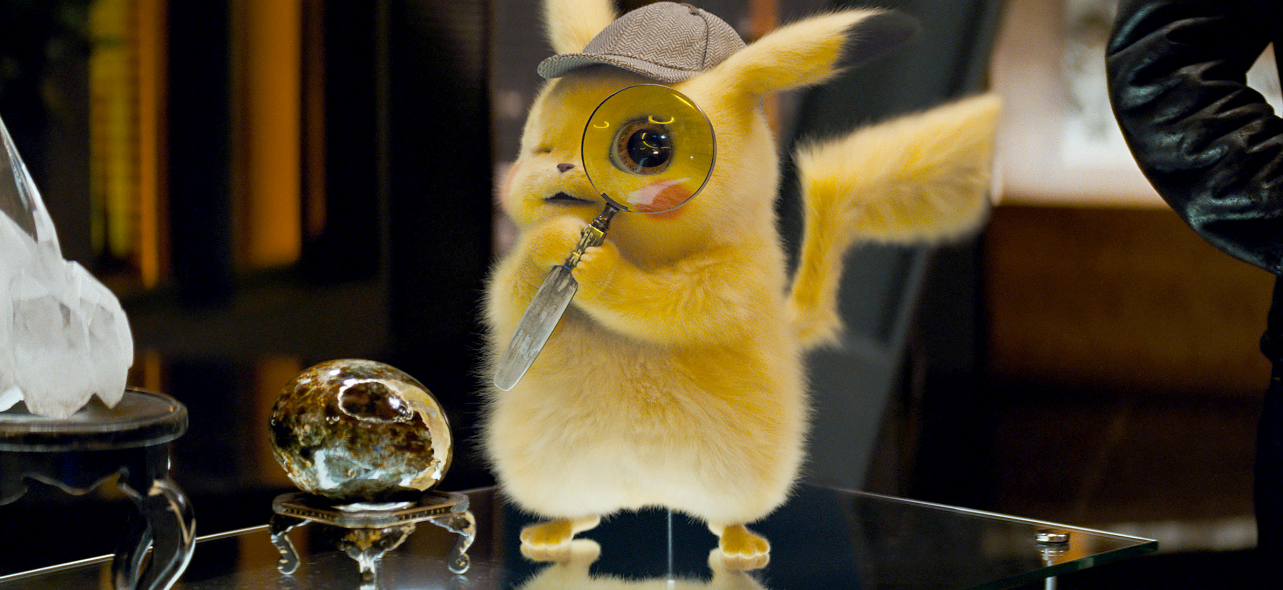 Pikachu stares into your mouth, searching for the mysteries inside you (Warner Bros. Pictures )