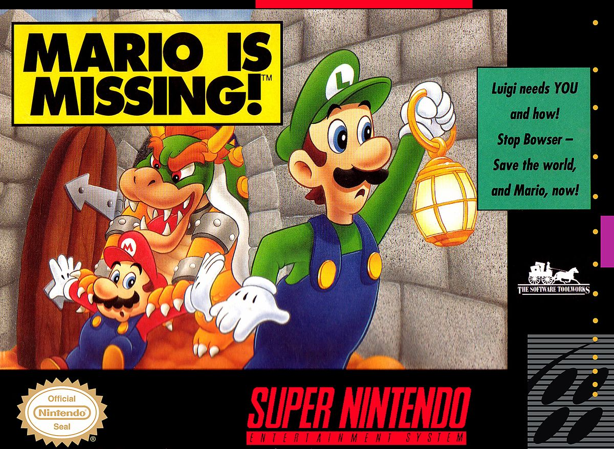 If your student is as clueless as Luigi then they should definitely play this game.