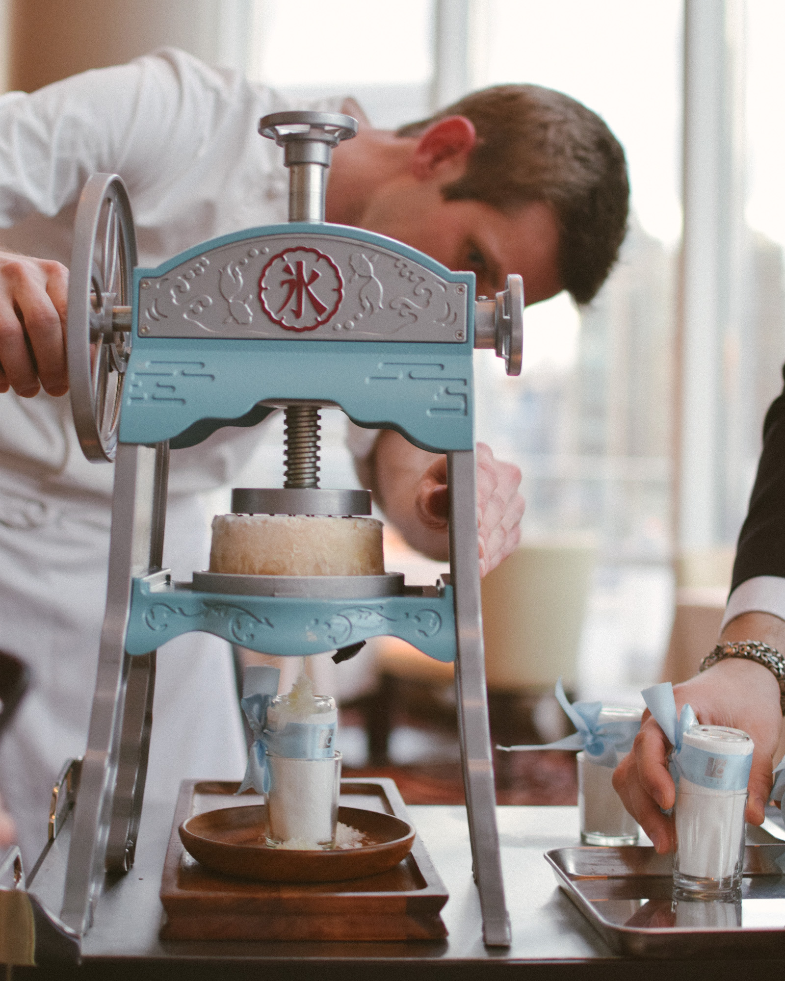 First Course: Chef Dostal and his beloved Japanese Kakigori Machine