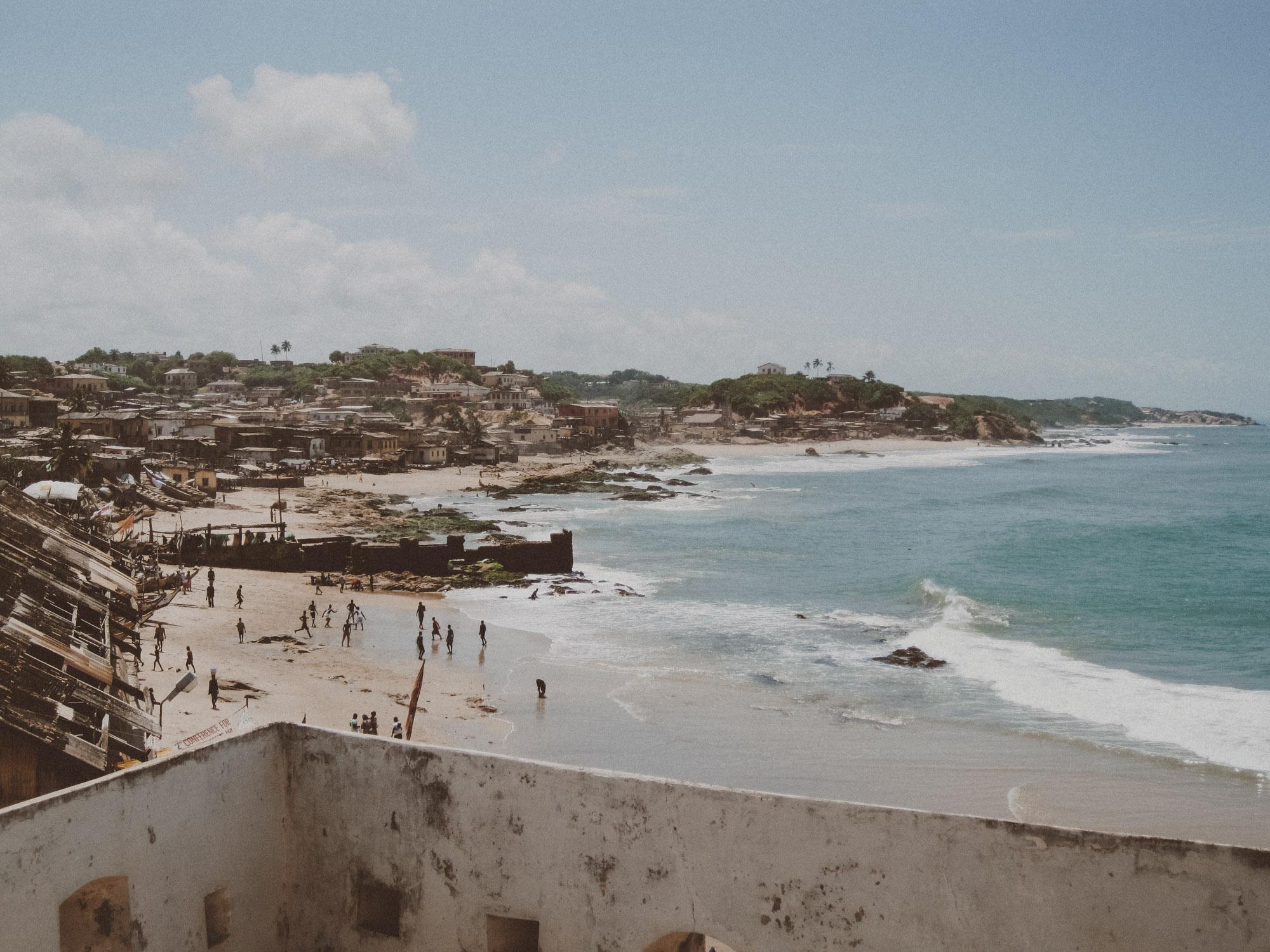 Cape Coast, Ghana | Photo by Caroline Taft,  The Brazen Gourmand