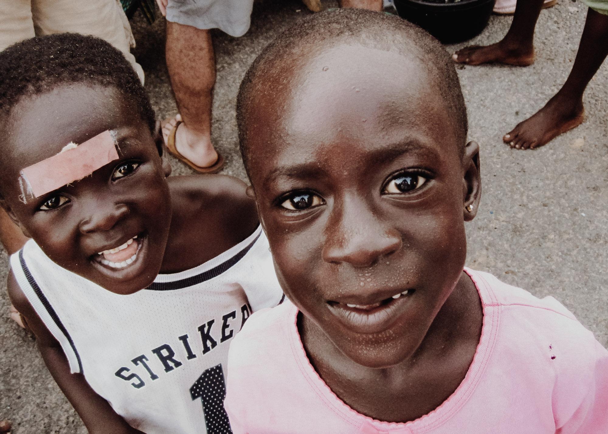 Children in Cape Coast, Ghana | Photo by Caroline Taft,  The Brazen Gourmand