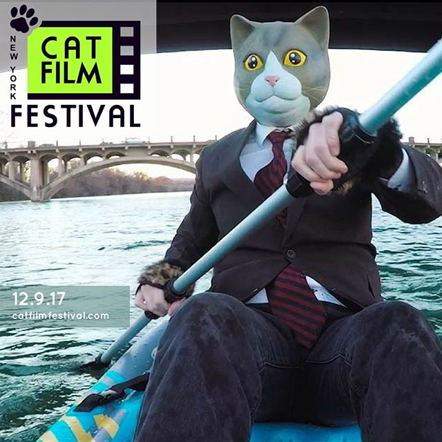 Gus seems to think he is a cat and can hide his identity from others, although the people around him can see right through his mask. See Lisa Donato's short film, GUS THE CAT, as part of The NY Cat Film Festival on December 9th in NYC. Tickets and info at www.catfilmfestival.com  #catfilmfestival #catfilmfestivalnyc #cats #catsofinstagram #catstagram #catsagram #catsofig #catsofworld #CatsOfInsta #catslover #catsoninstagram #catslife #catsgram #catsareawesome #catsdaily #catsworld #filmsaboutcats
