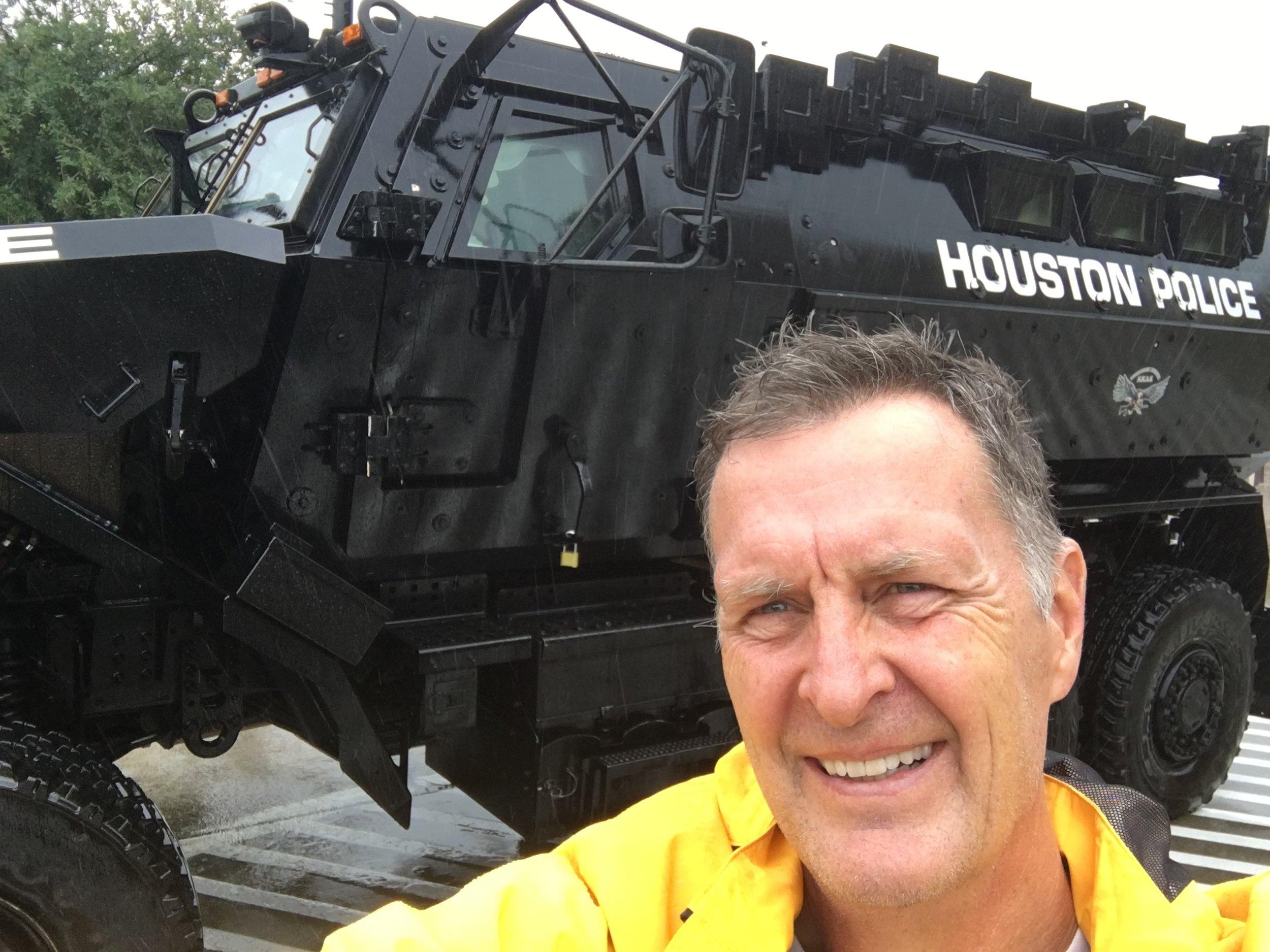 Photo of Bob Emery at his job