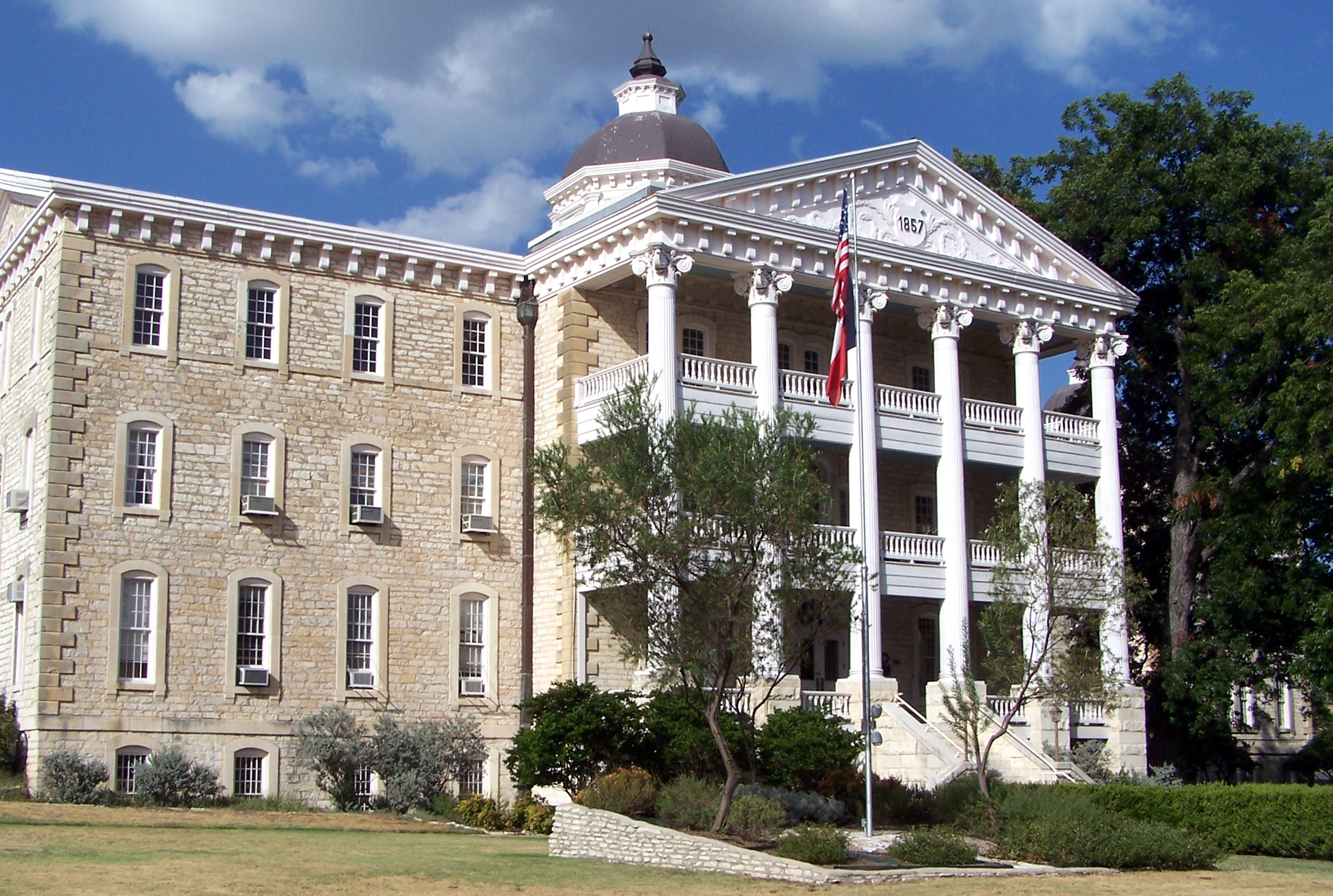 "The historic ""Old Main"" building on the Austin State Hospital campus will continue to function as an administrative building."