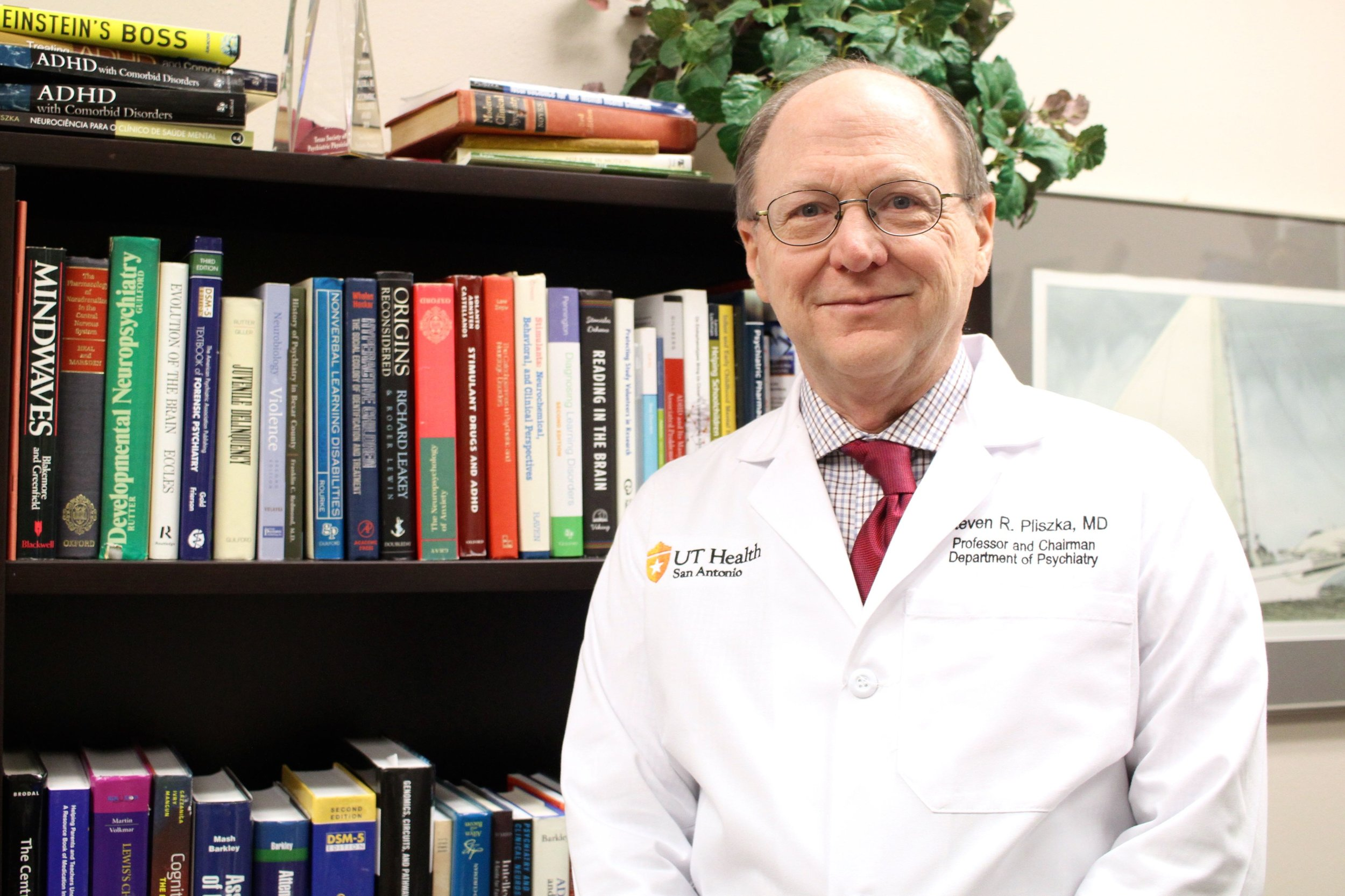Dr. Steven Pliszka, professor and chair of the Department of Psychiatry at UT Health San Antonio