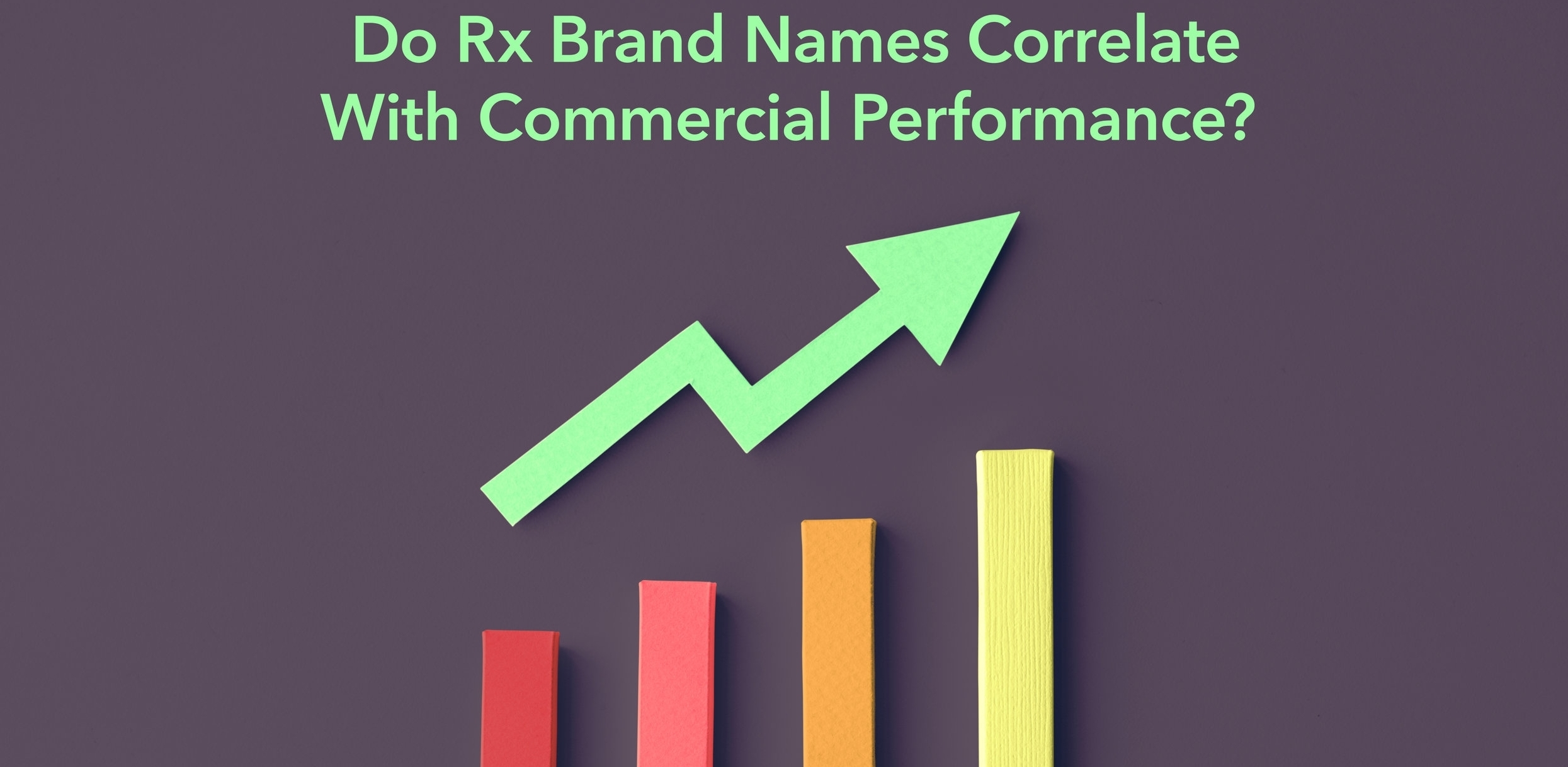 Do Rx Brand Names Correlate With Commercial Performance