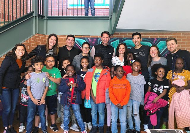 As part of the @jason_zucker16 and @carly.zucker #Give16Honors award that @joshuaeking and @jillking312 received, they were given $1,000 to donate to an organization of their choice! They chose Lucy Laney Elementary, which was the very first school Twelve volunteered at with @playworksmn back in 2016. We went to the school yesterday to present the check and join the kids for some recess fun. It was amazing to see the valuable @playworksrecess life skills still engrained in their culture today. @lovethemfirstfilm . . . . . #lucylaney#lovethemfirst #playworks #giveback #donate #mnwild #give16 #umnchildrens #supportlocal #community#mpls #minneapolis