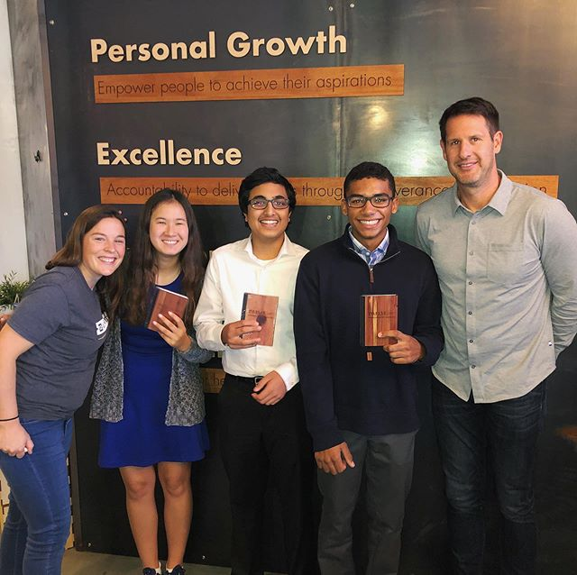 Today we welcomed a @wayzatahs business club team into our MPLS office to learn about culture at a startup! They spent the morning asking Josh, Haley and Tara thoughtful questions, got a tour of our space and of course took home some Twelve-branded swag. We loved seeing these go-getters exploring the consulting world at such a young age! . . . . . #learning #collaboration #teamdevelopment #culture #workplaceculture #officegoals #anaplan #consulting#mnsmallbusiness #minneapolis