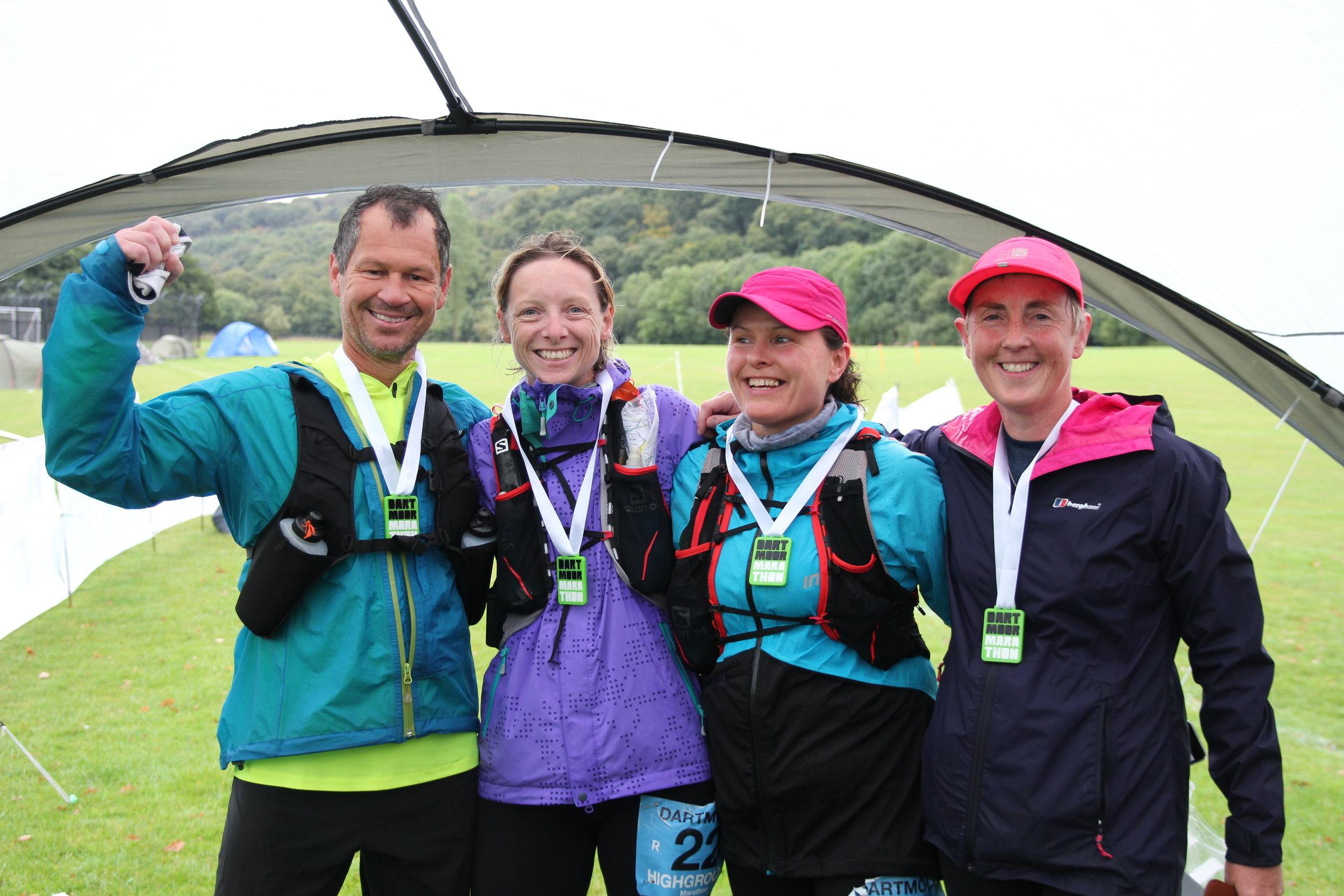 Finished the Dartmoor Marathon