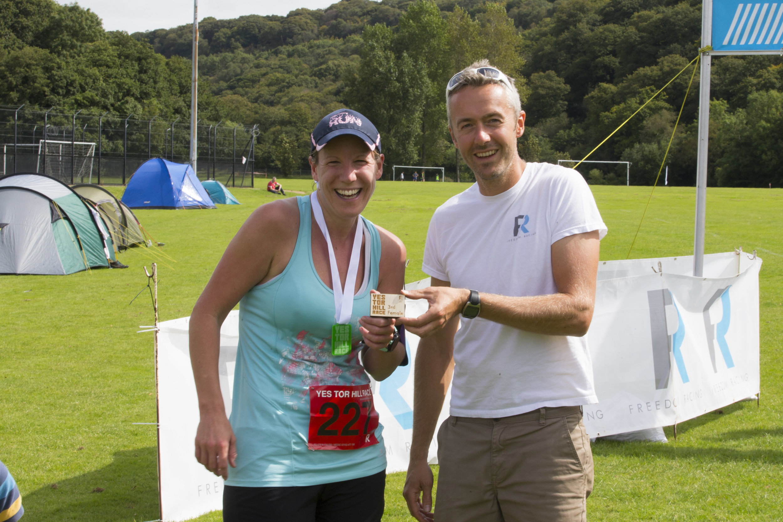 Yes Tor Hill race 3rd female