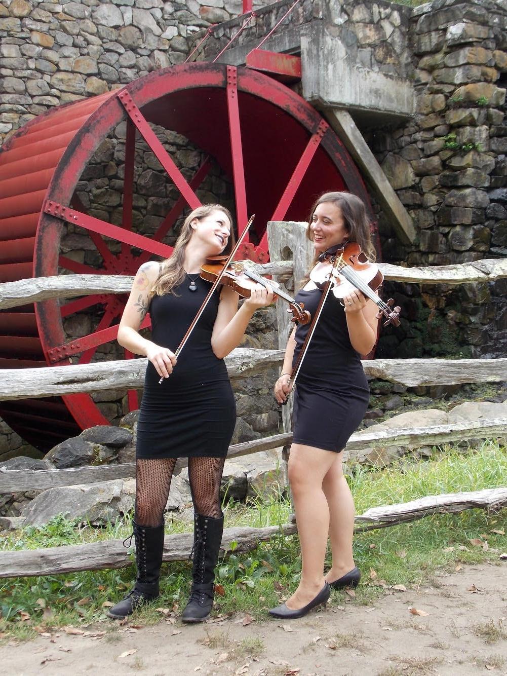 L-R: Brittany Stockwell & Sylvia DiCrescentis of Indigo Heart & the BVQ