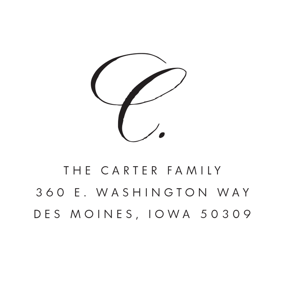 STAMP NAME: THE CARTER FAMILY