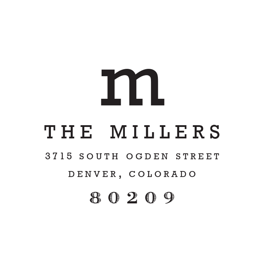 STAMP NAME: THE MILLERS