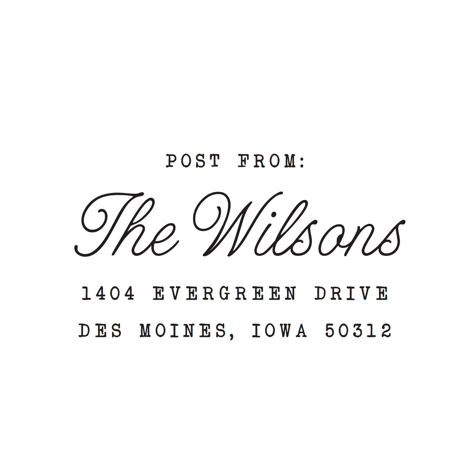 STAMP NAME: WILSONS