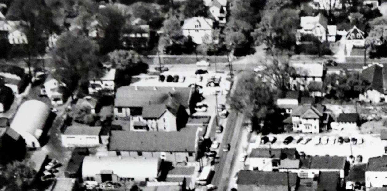 West Washington Street and South Elmwood Street, 1955
