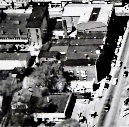 1957 Aerial View South-side Public Square