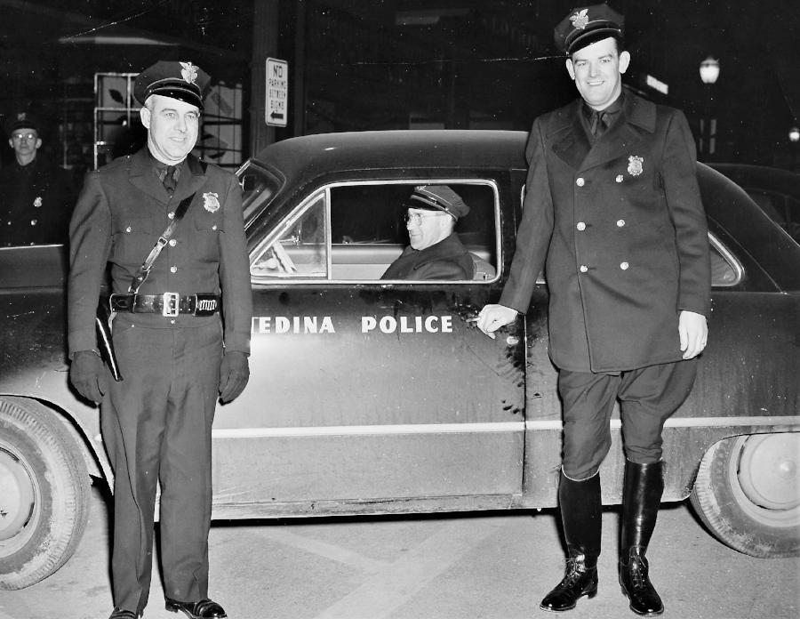 Patrolman Homer C. Davis Sr., Patrolman Clair House and Patrolman Rudolph Blateric