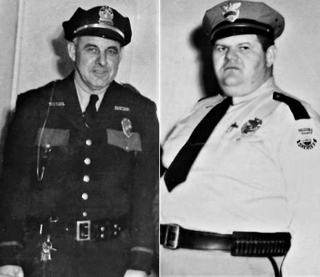 Chief Homer C. Davis Sr. and Sheriff Steve Helli