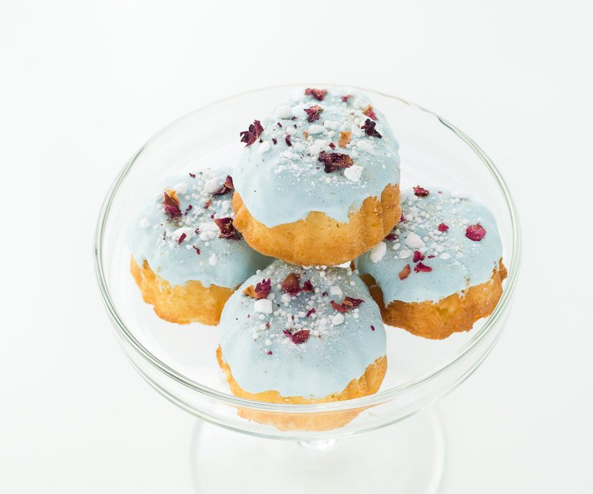 Miniature Glazed Bunt Cakes