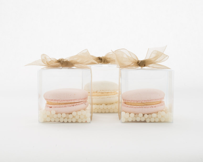 Macaron & Pearl Boxed Favors