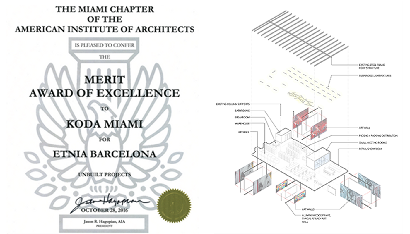 AIA Award of Excellence for an Unbuilt Project