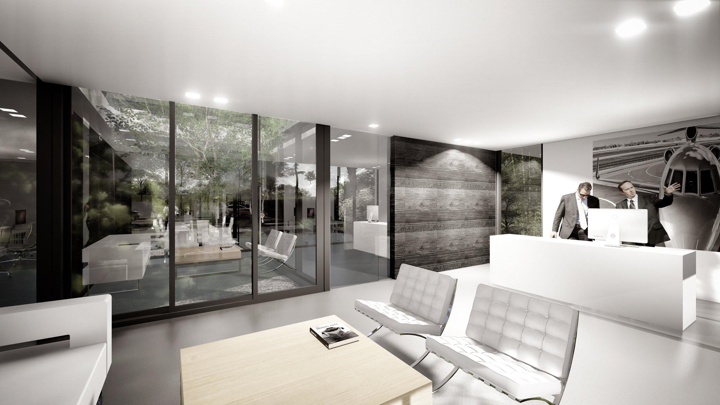 Aviation Design Center Modern Conference Room