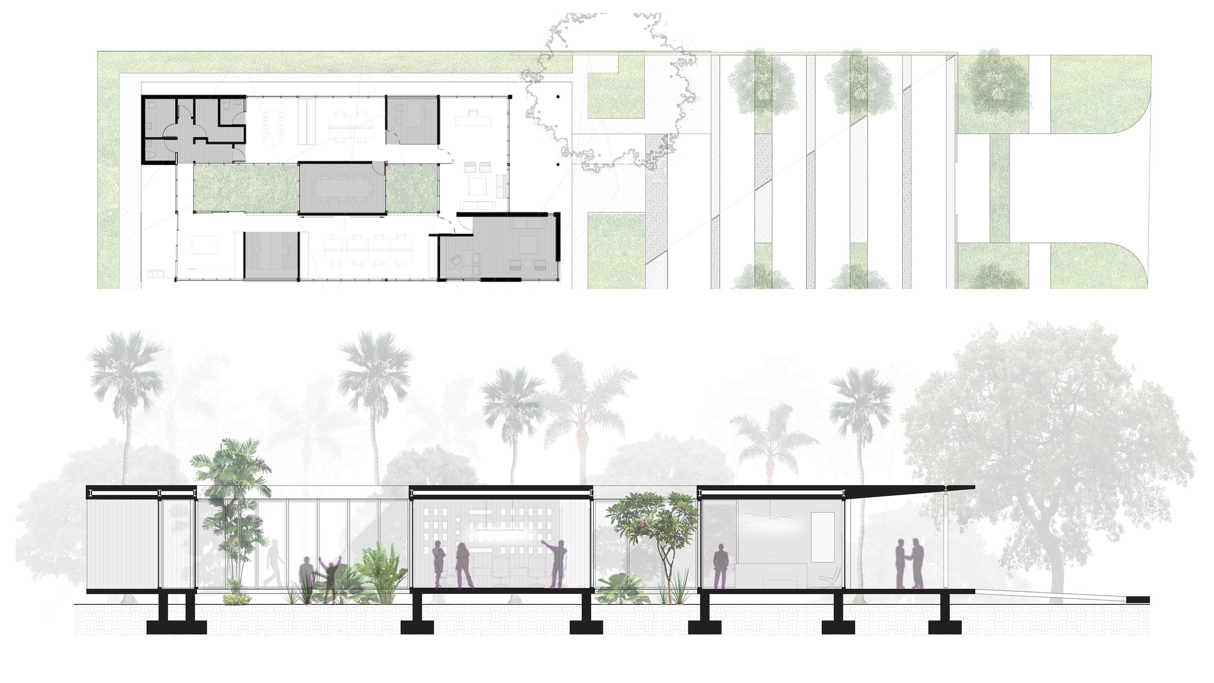 Aviation Design Center AIA Award Floor Plan