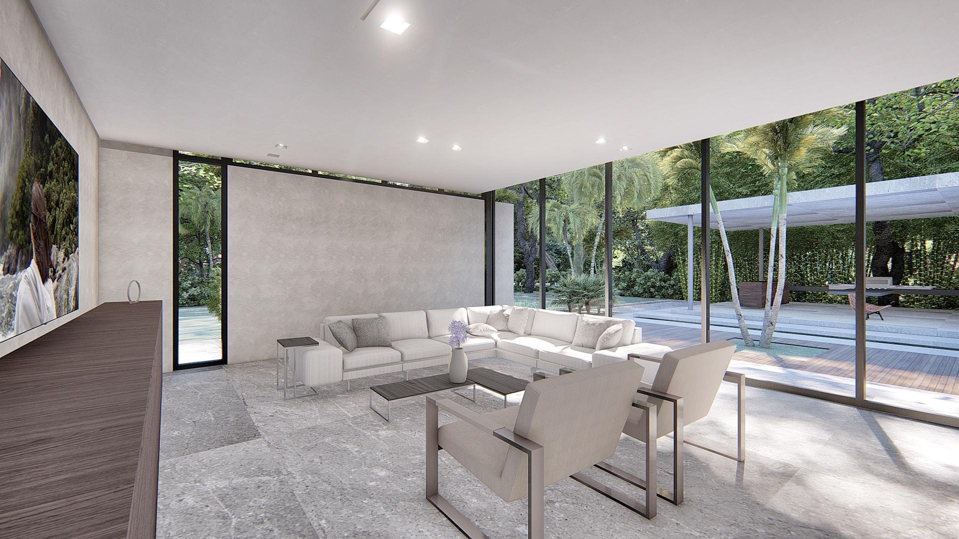 Contemporary Coconut Grove Miami Home by KoDA