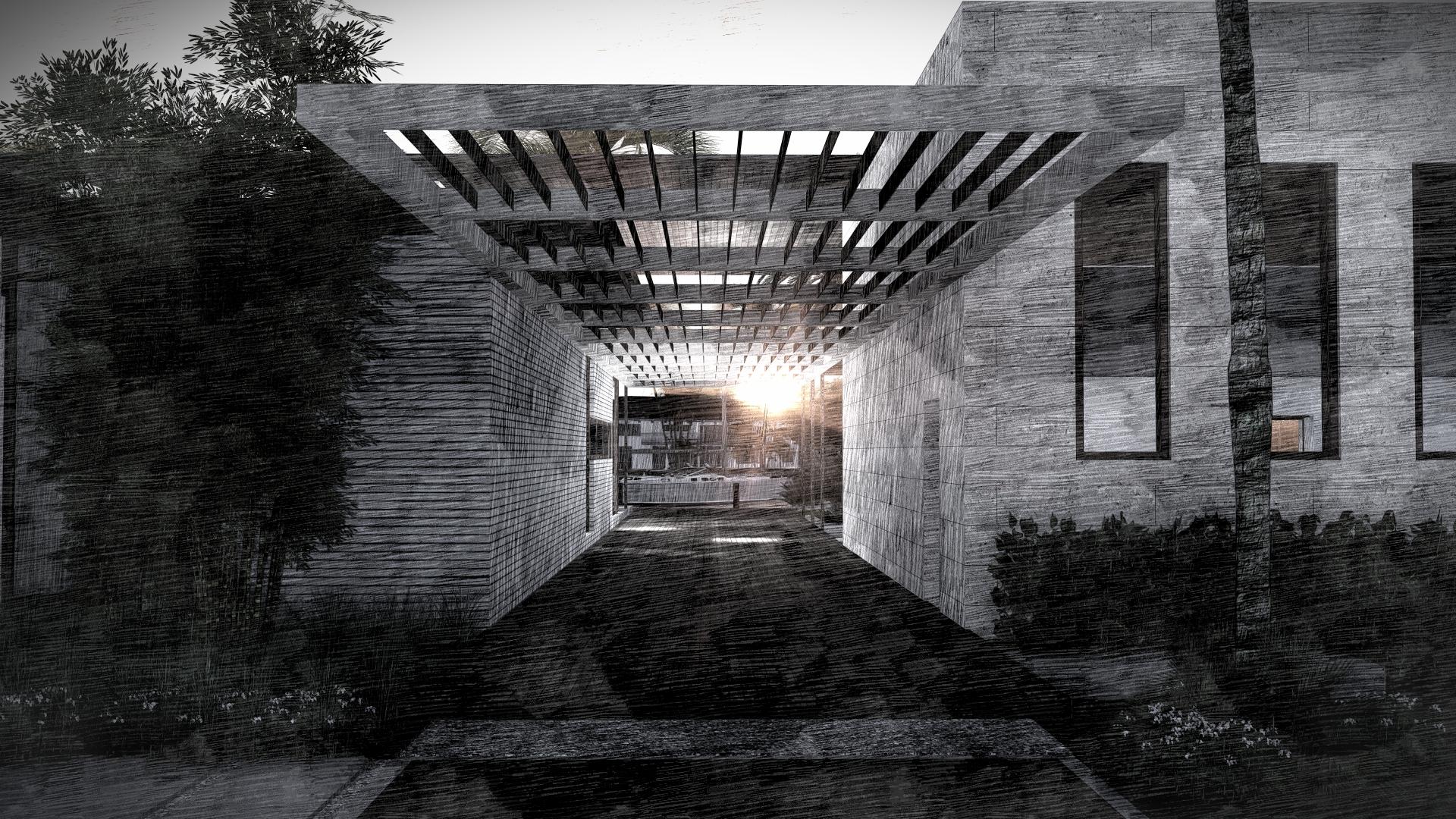 Modern Home Entrance by KoDA Miami