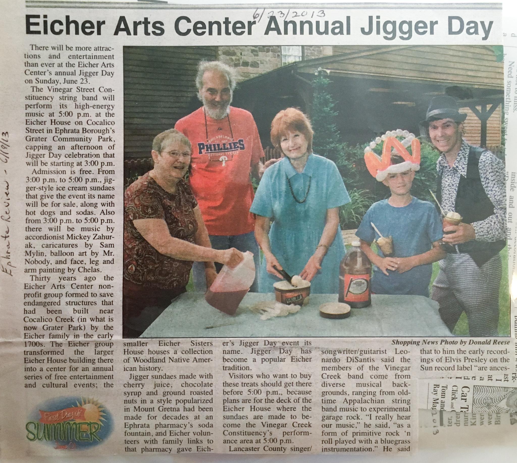 Annual Jigger Day