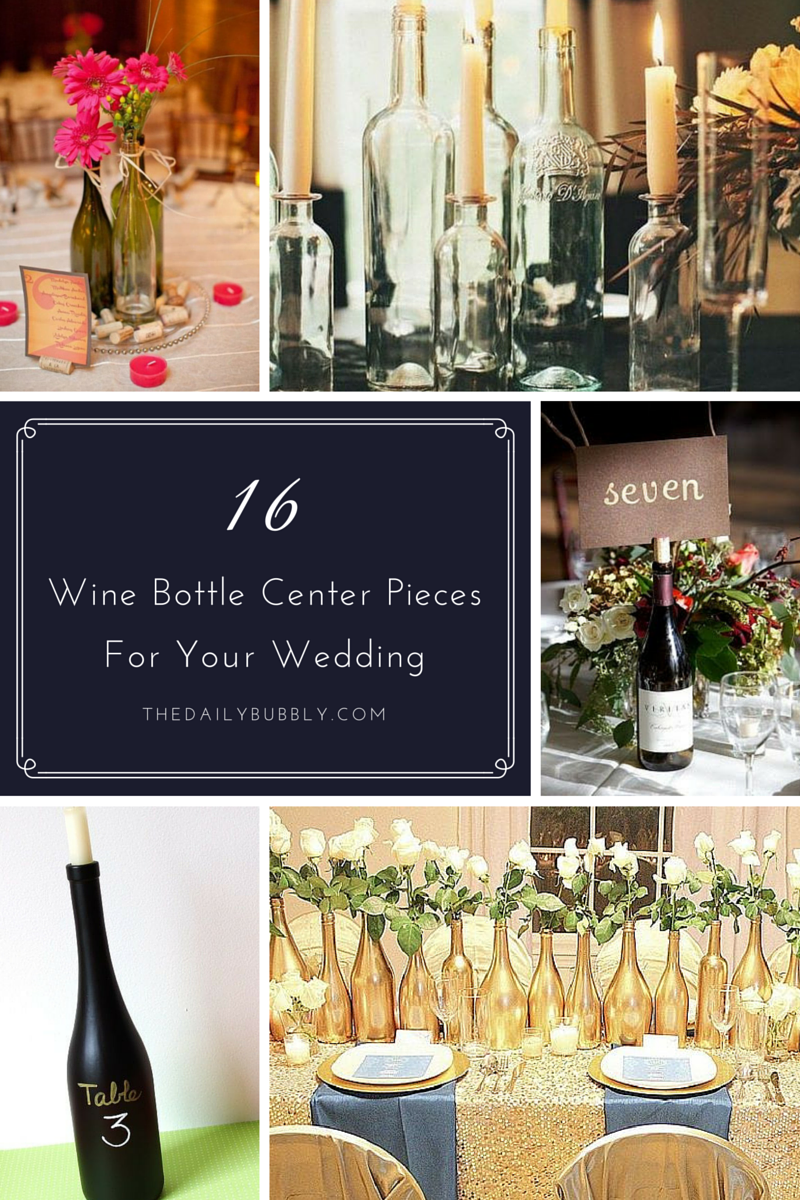 16 Wine Bottles Centerpieces — Sarah Fern - Fashion Stylist