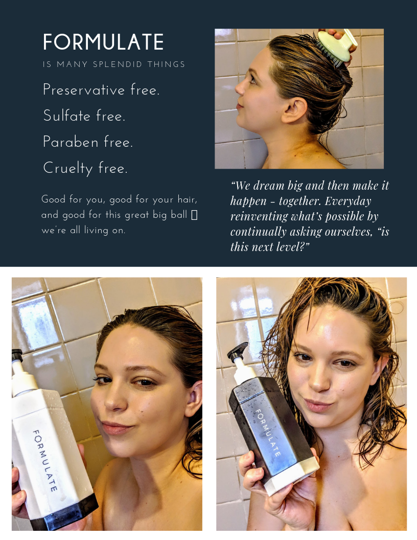 The Hair Comb is a game changing in washing my hair. It massage the scalp to ease itchiness, promote blood circulation, Exfoliate and clean the scalp. Product Link: http://www.amazon.com/gp/product/B07MQ3RRJR
