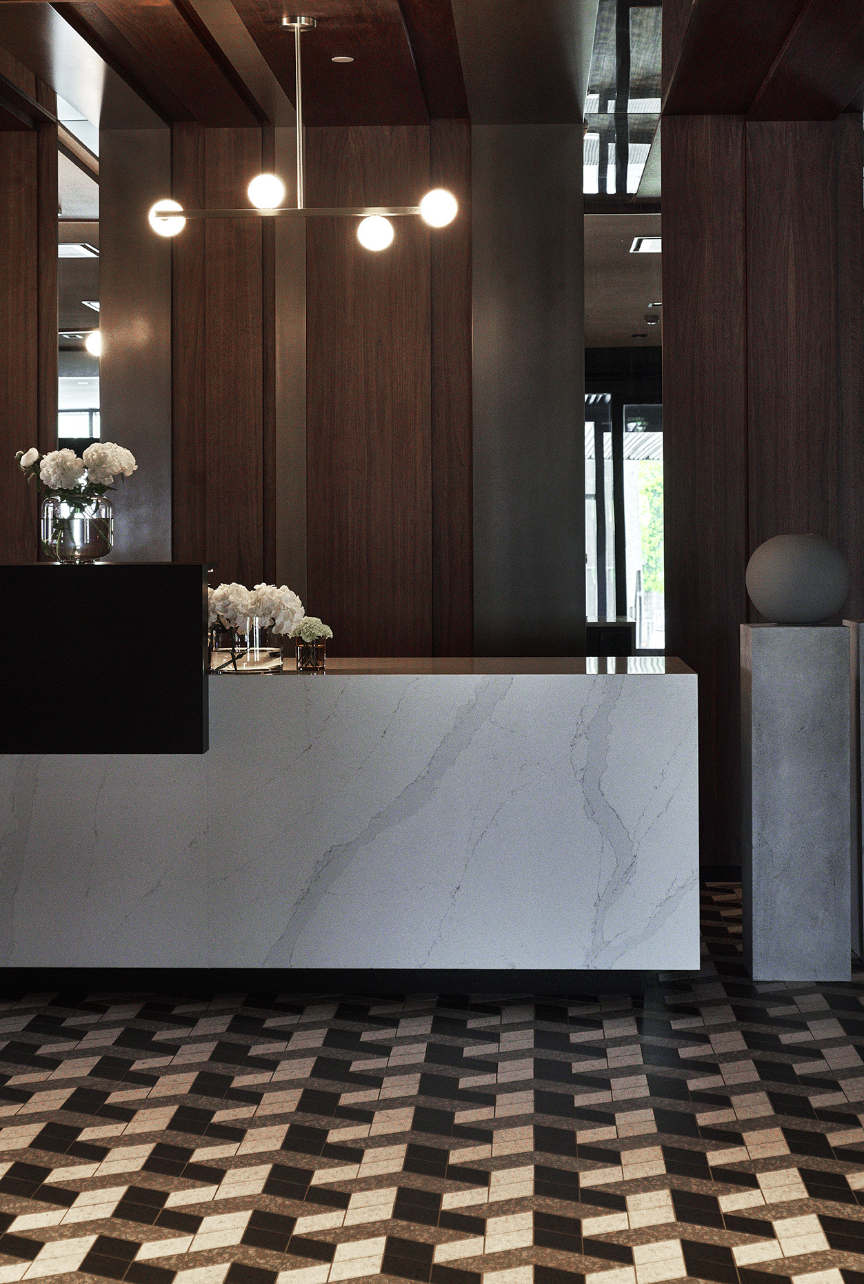 HOTEL CALEDONIEN - A 60's iconic landmark in the heart of Kristiansand have undergone a retro chic refurbishment.