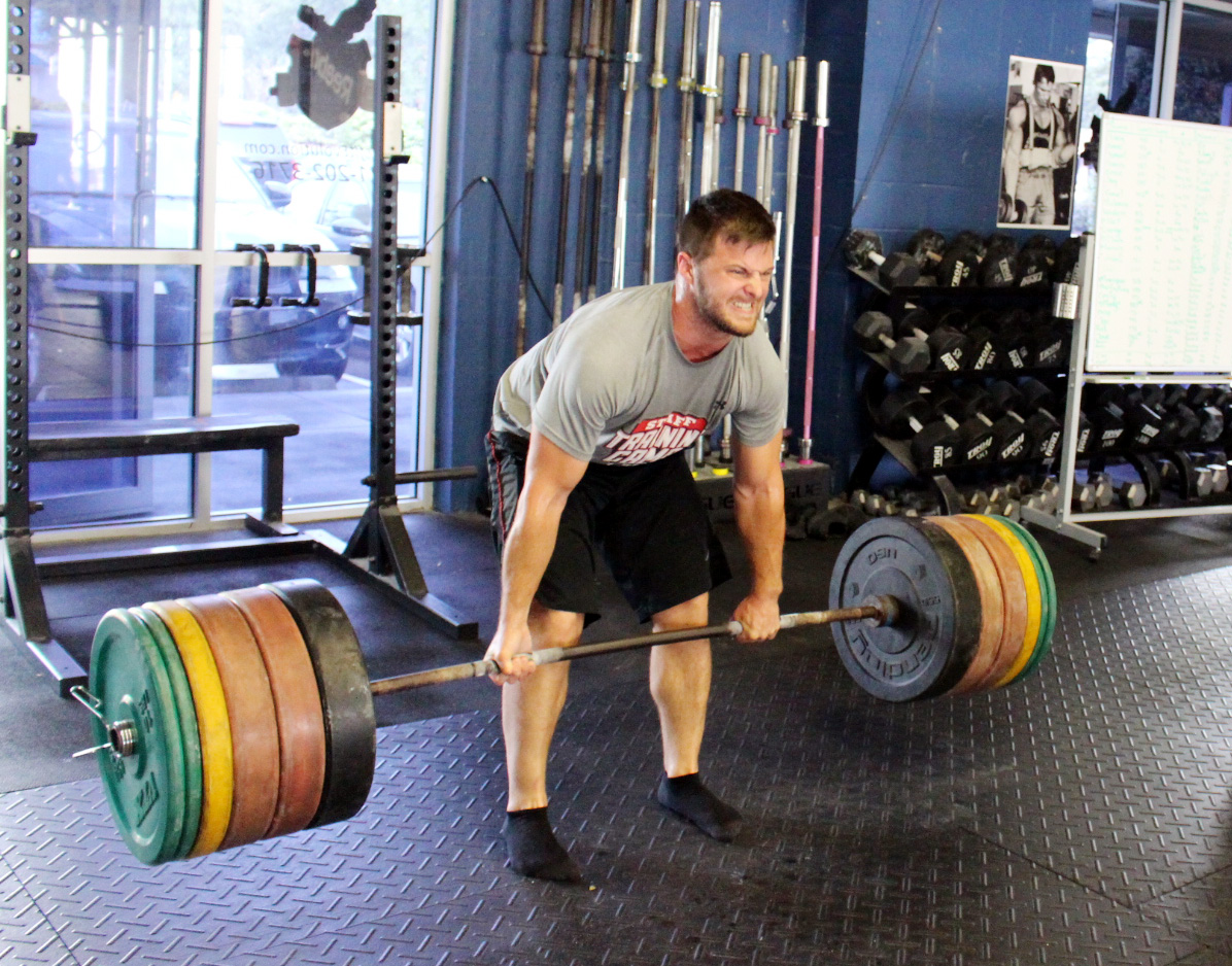 Kyle with 425 lbs