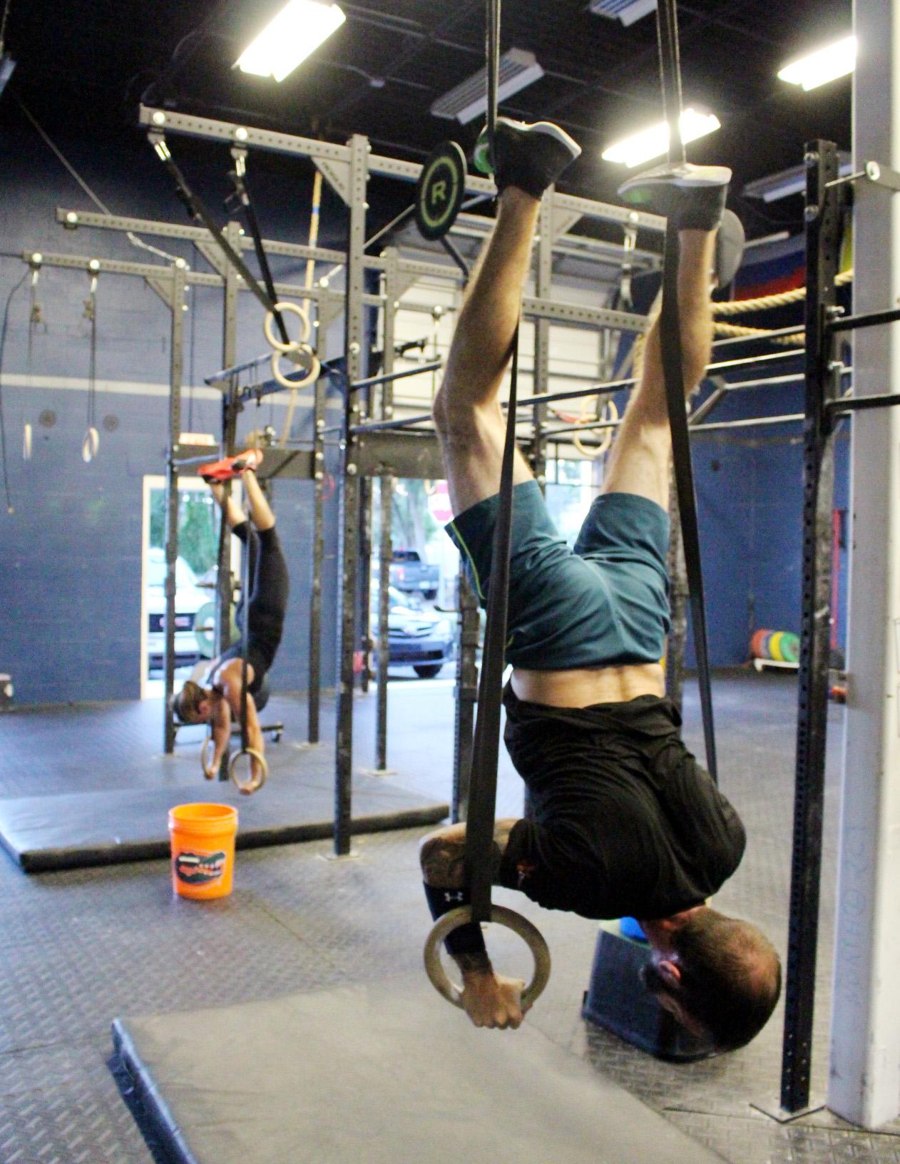 Ring Handstand Push-ups
