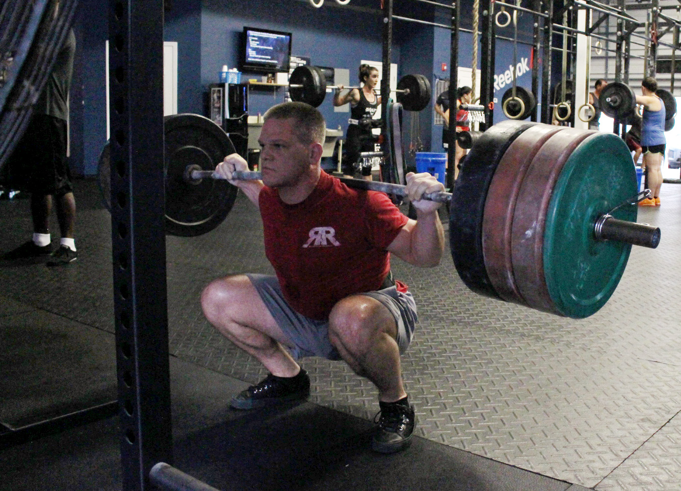Ben with 355 lbs