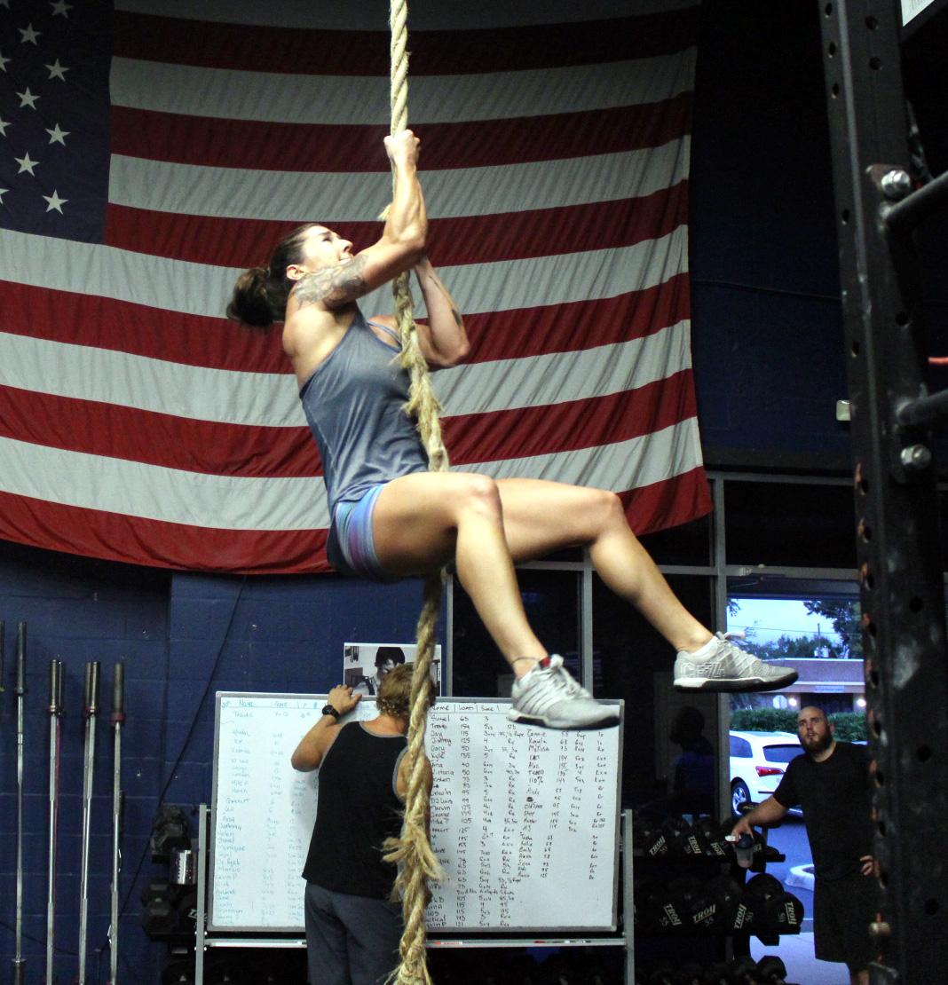Alexa climbing legless