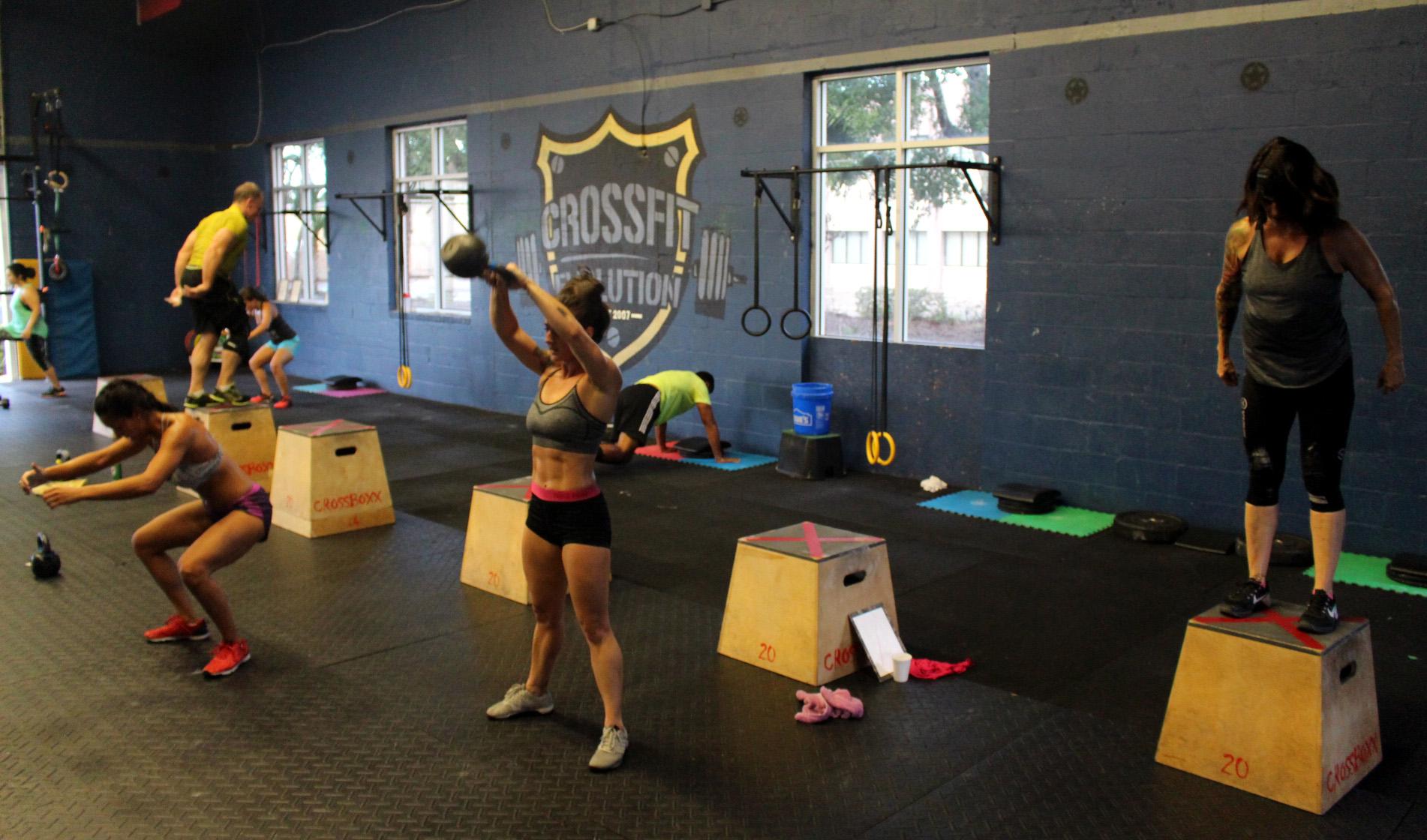 Swings & Box Jumps